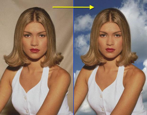 Как убрать обработку с фото