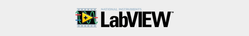 LabVIEW is a popular programming language