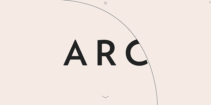thisisarc_com Some Of The Best One Page Websites Designs For Inspiration