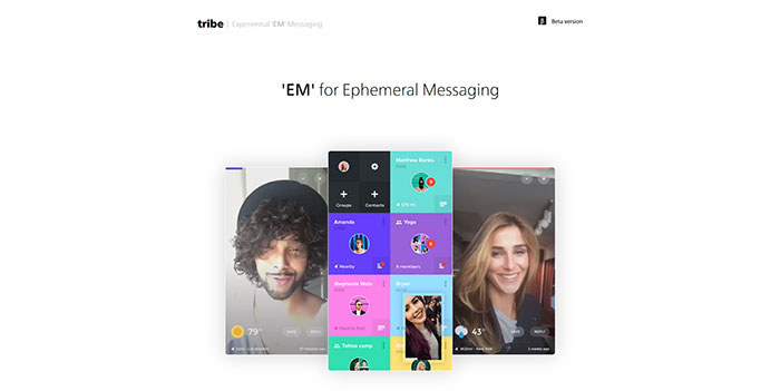 tribe_pm Some Of The Best One Page Websites Designs For Inspiration