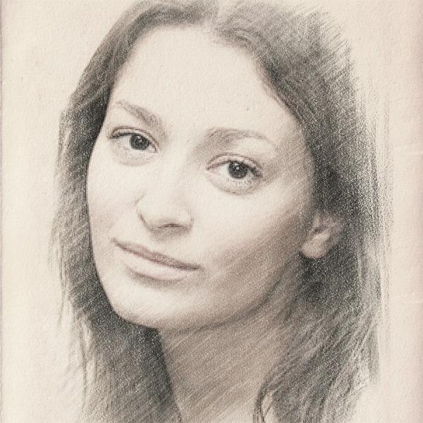 Фотошоп рисунок карандашом из фотографии онлайн, дню