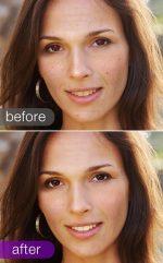 Убрать морщины на фото – Retouch portrait photos for free