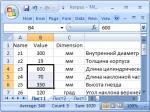 Visual studio работа с базами данных – MSTUCA: Недопустимый идентификатор