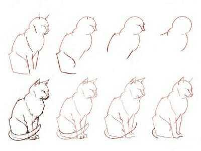 Анимация, простые рисунки карандашом прикольные фото