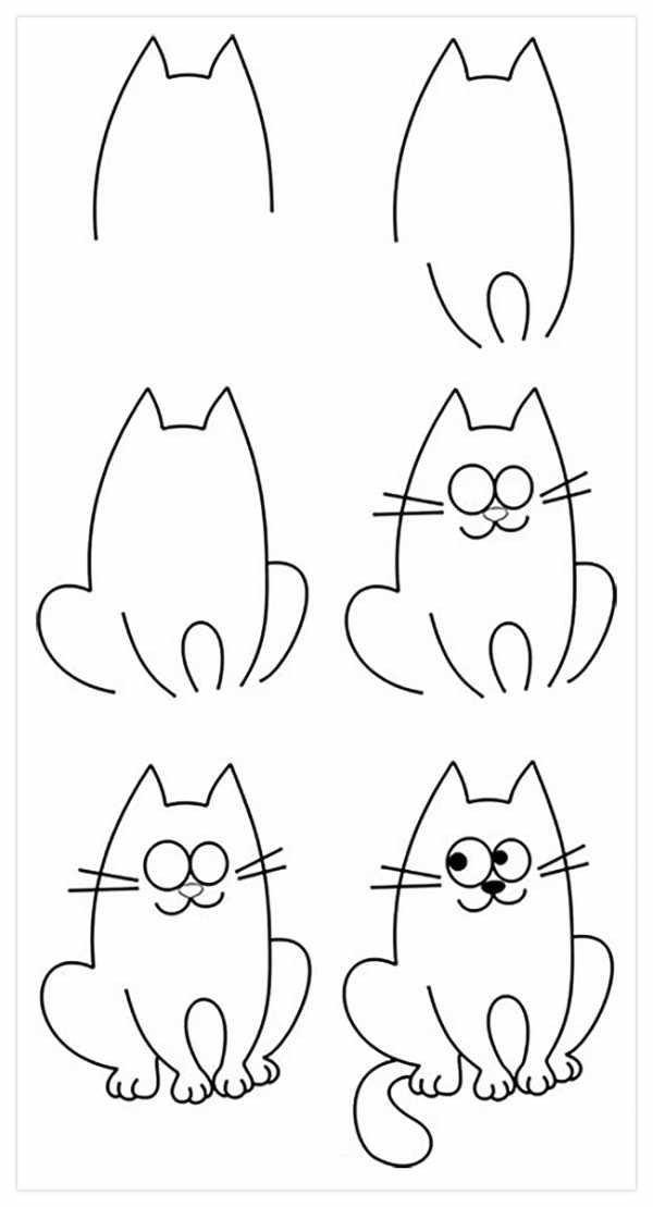 Картинки для 8 лет срисовать