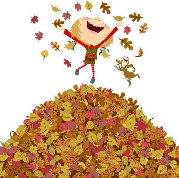 Осень приколы открытки