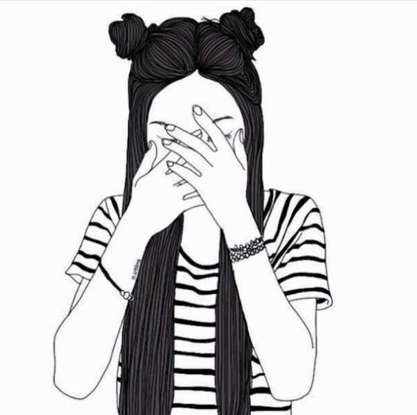 Картинки черно белые для распечатки прикольные для девочек, дороги картинки